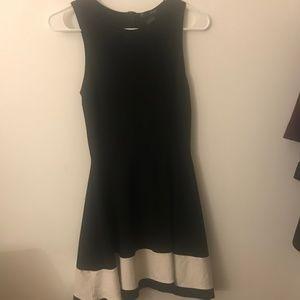 Aqua Dresses - Aqua Black Dress from Bloomingdales